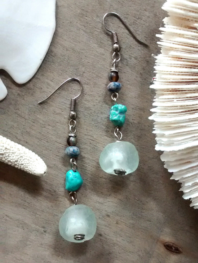 Clear Sky Earrings