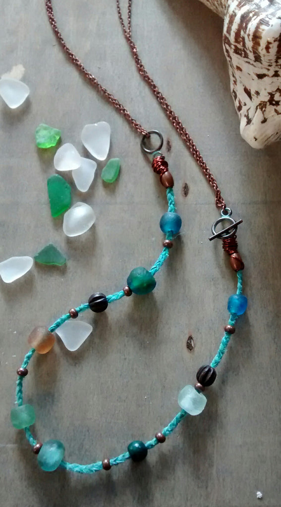 Sea Glass Beach Necklace