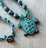 Sea Turtle Kelp Necklace