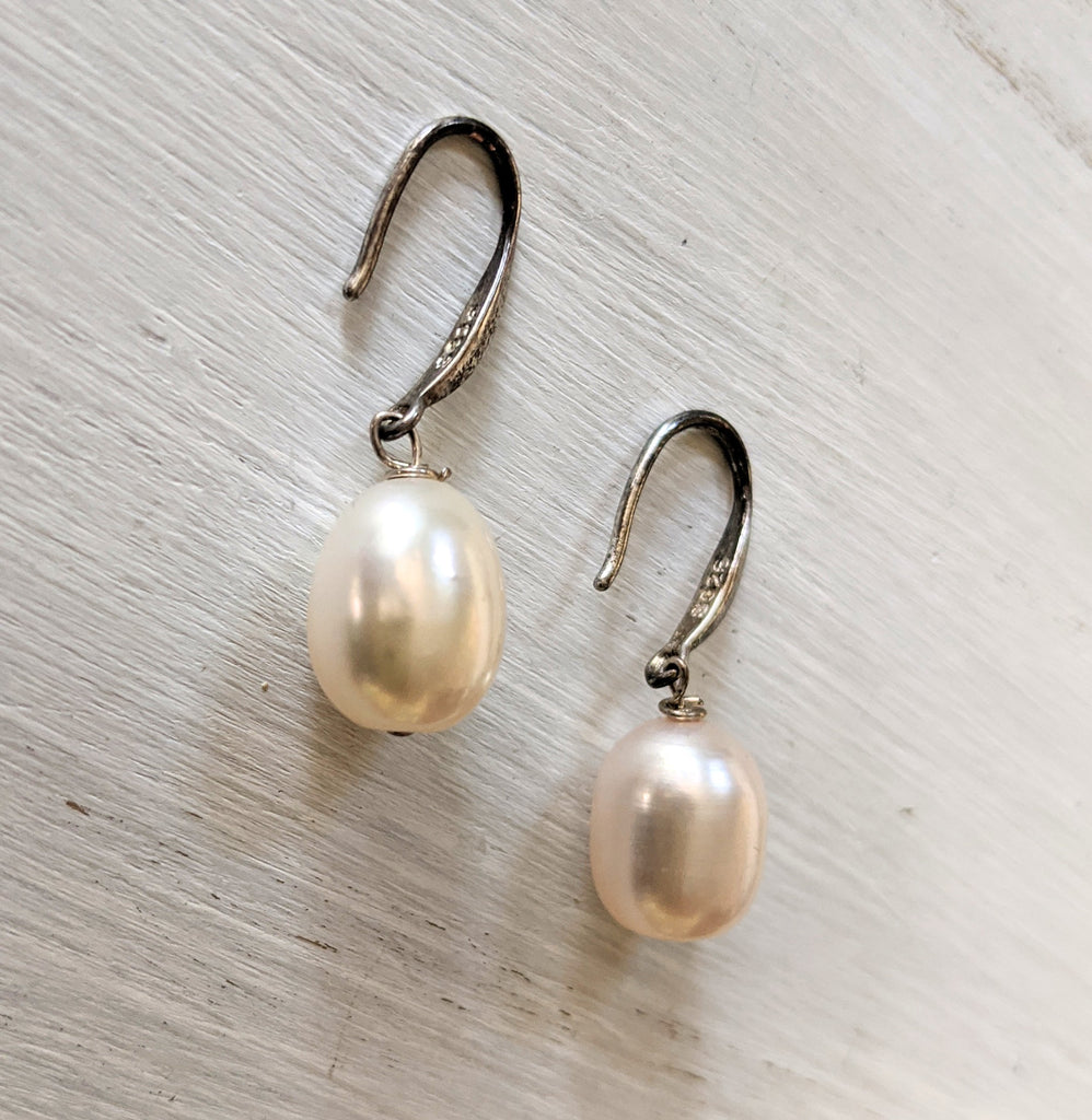 Elegant Pearl Earrings