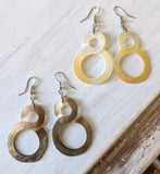 MOP Infinity Earrings