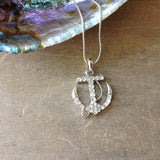 Anchor Sparkle Necklace