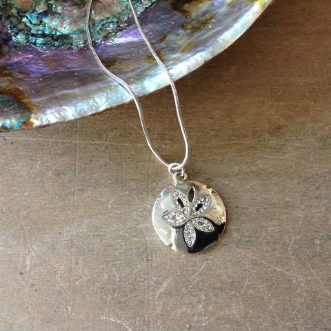 Sand Dollar Sparkle Necklace