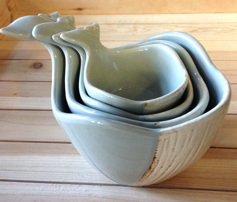 Grey Whale Measuring Cup Set