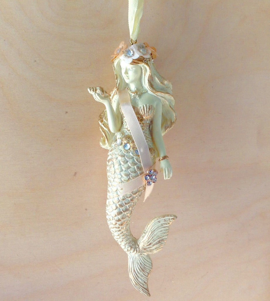 Mermaid Christmas Ornament