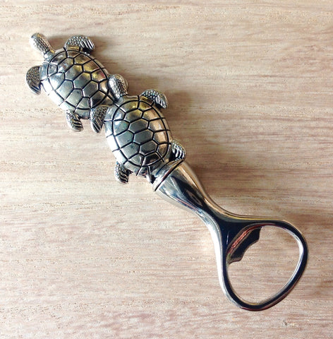 Double Turtle Bottle Opener