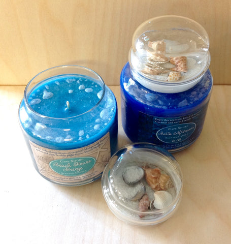 Beach Top Ocean Scented Candle