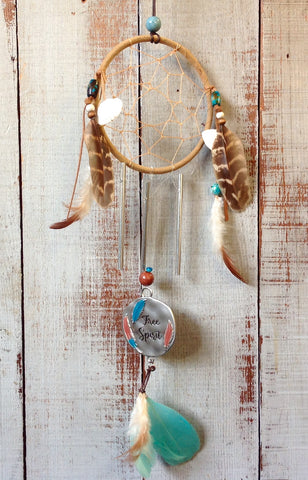 Free Spirit Dream Catcher Windchime