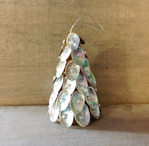 Abalone Shell Tree Ornament
