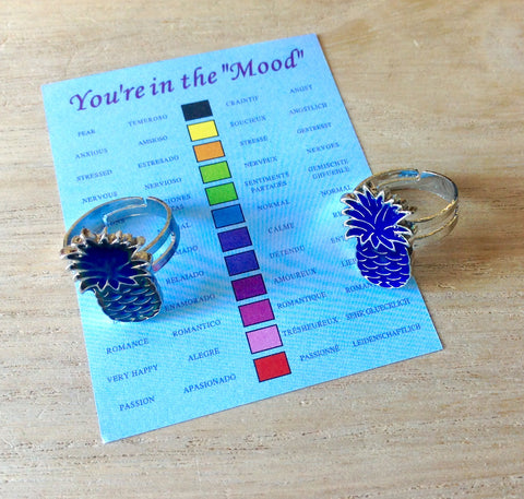 Pineapple Mood Ring