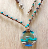 Surfer's Wave Necklace