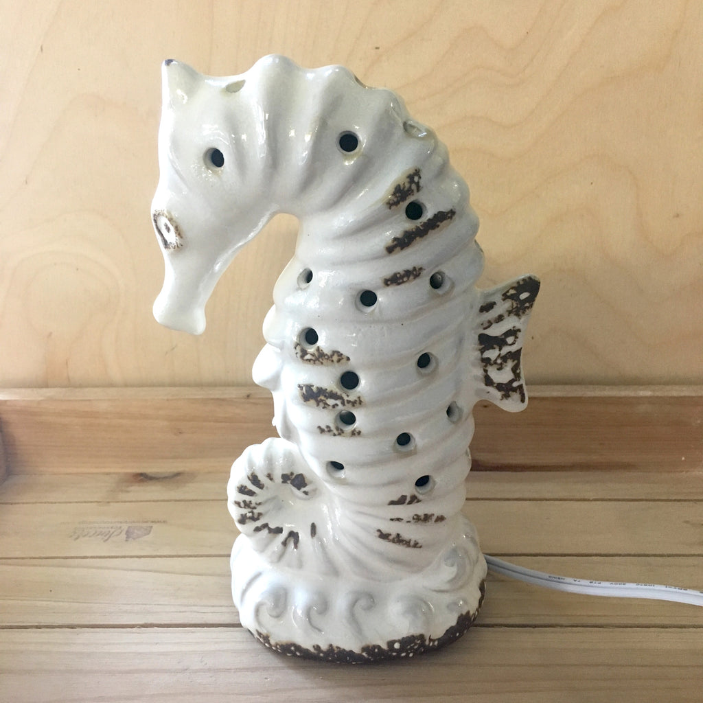 Seahorse Ceramic Nightlight