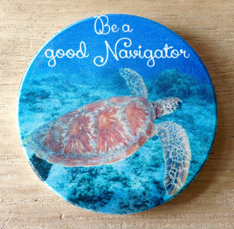 Good Navigator Sea Turtle Coaster