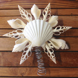 White Shell Coral Tree Topper
