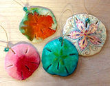 Colorful Sand Dollar Ornament