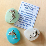 Dolphin Advice Pocket Charms