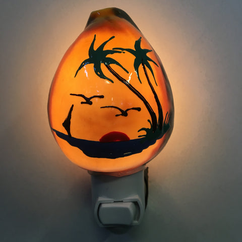 Painted Cowrie Nightlight