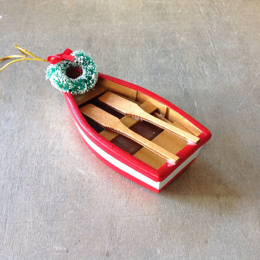 Rowboat Wreath Ornament