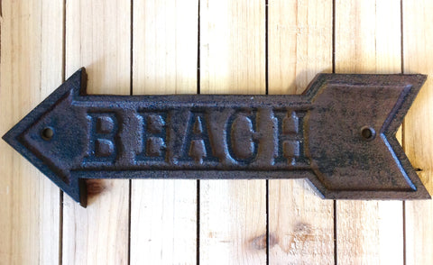 Arrow Beach Sign