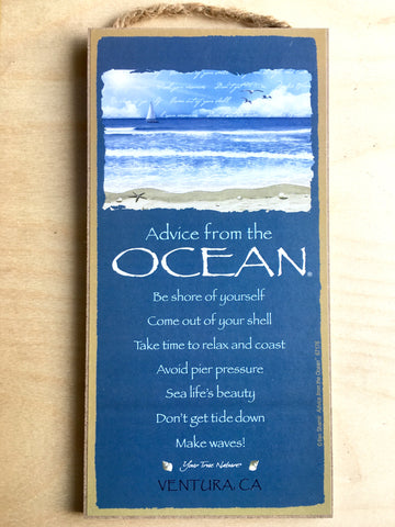 Advice from an Ocean Sign