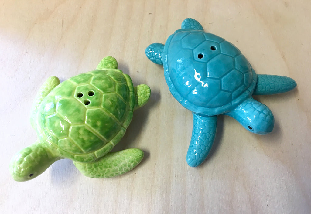 Swimming Turtle Salt & Pepper Set
