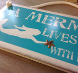 Mermaid & Her Pirate Sign