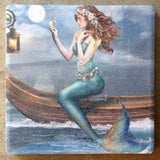 Ocean Treasure Mermaid Coaster