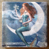 Moonlight Star Mermaid Coaster