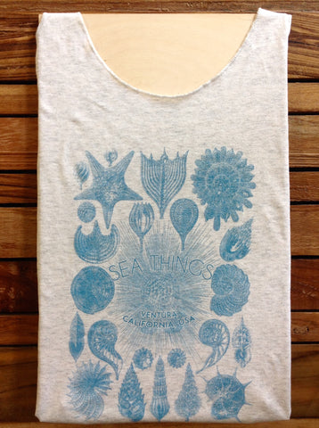 Sea Things Shells Tank Top
