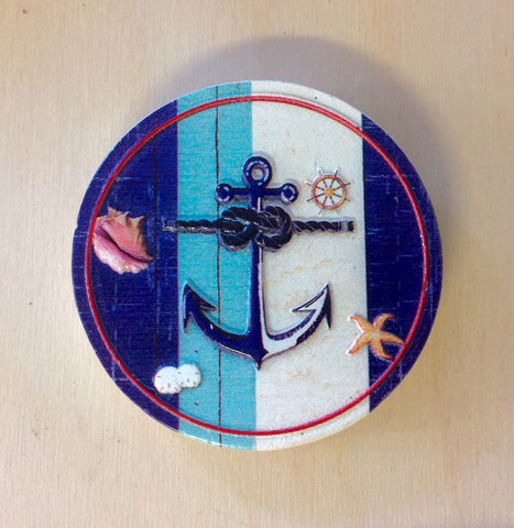 Nautical Anchor Magnet