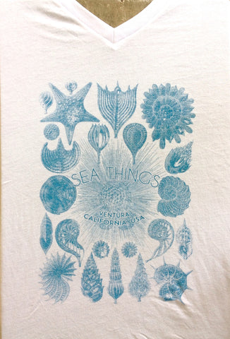 Sea Things Shells T-shirt