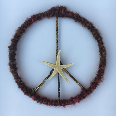 Peace Starfish Wreath