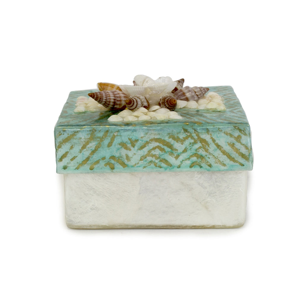 Capiz Seashell Box