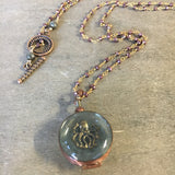 Sea Locket Necklace