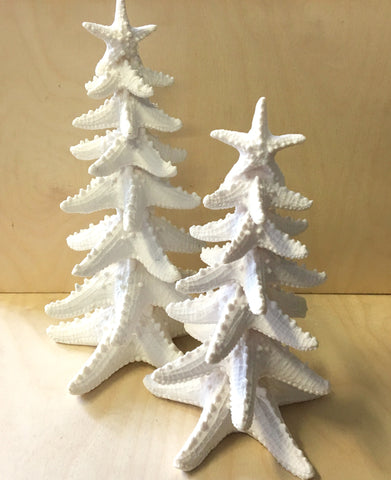 Bumpy Star Christmas Trees