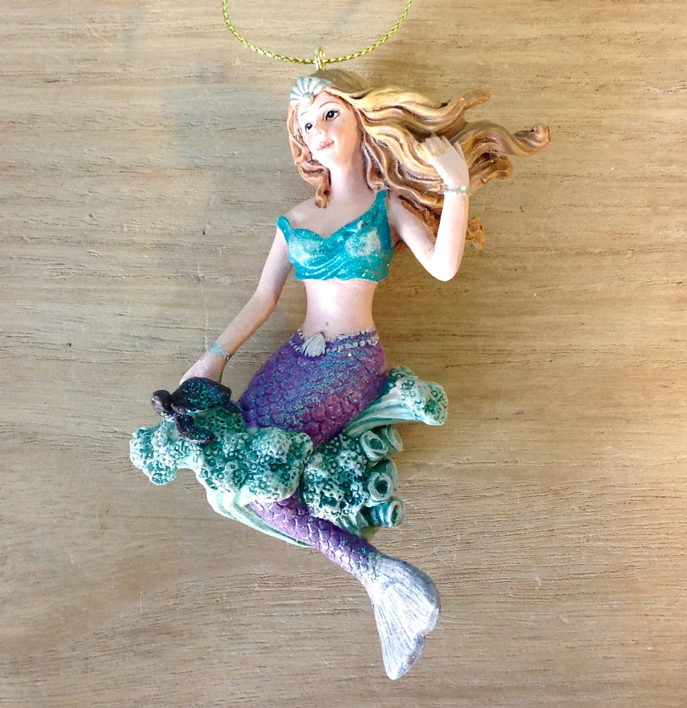 Whimsical Mermaid Ornament