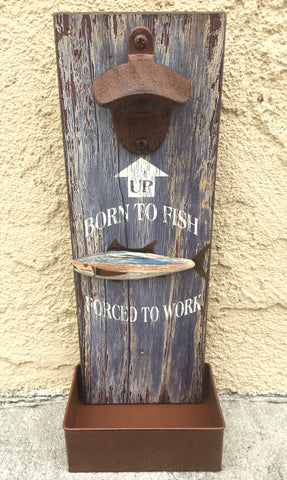 Born to Fish Bottle Opener