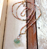 Summer Girl Seaglass Necklace
