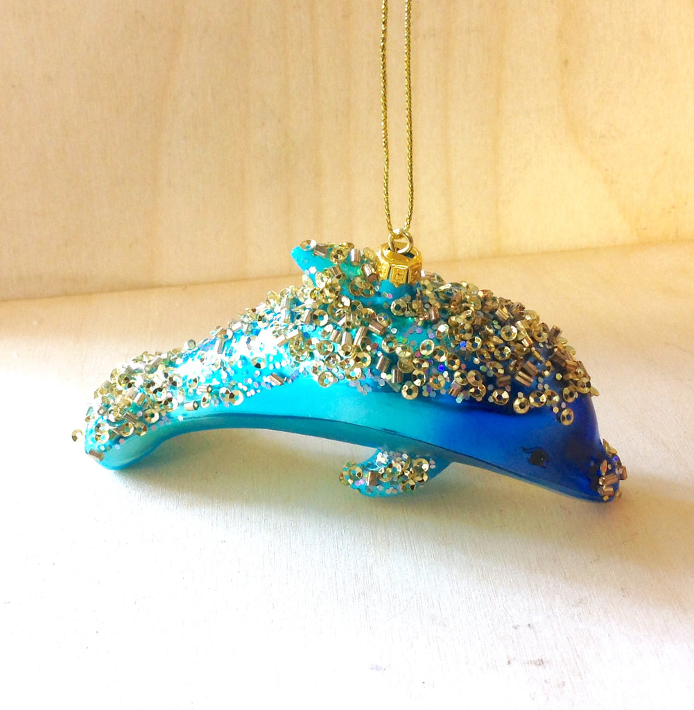 Shimmer Dolphin Ornament