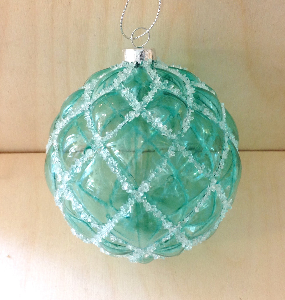Ice Netting Bulb Ornament