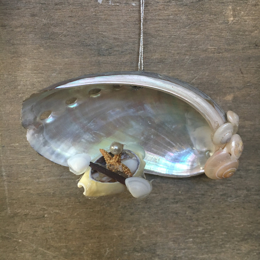 Shell Kayak Ornament
