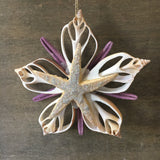 Purple Star Ornament