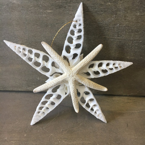 Snowflake Star Ornament