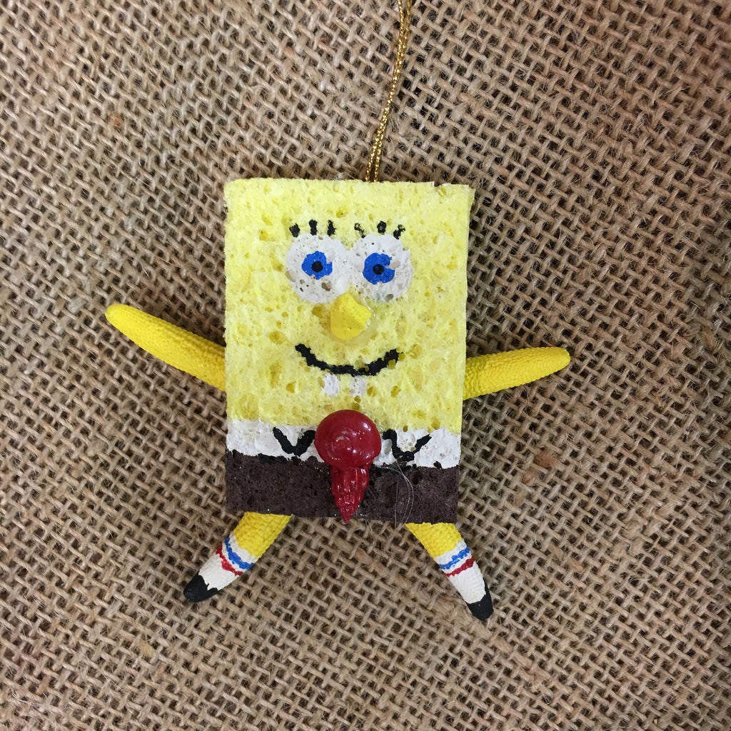 Starfish Sponge Bob Ornament