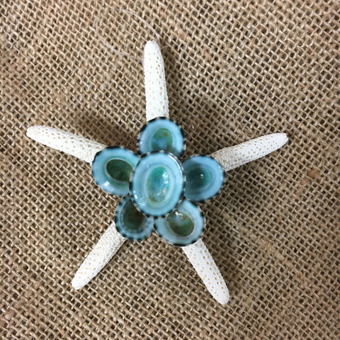 Beach Flower Ornament