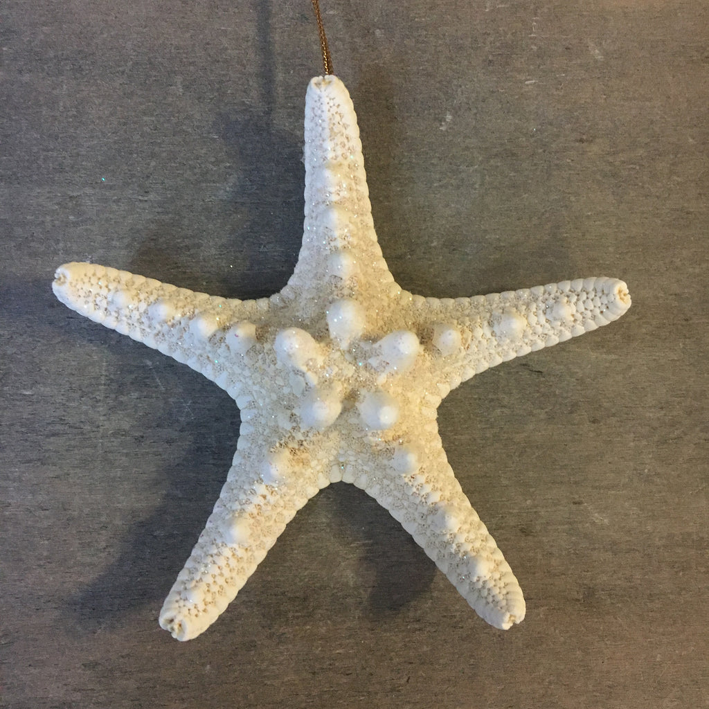 Sparkling Bumpy Starfish Ornament