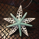 Bumpy Blue Starfish Ornament