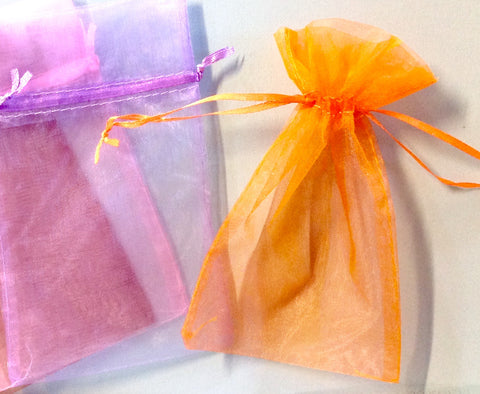 Colorful Sheer Cloth Bag