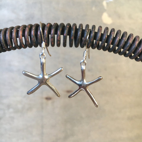 Simply Sterling Sea Star Earrings