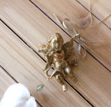Floating Cherub Heart Cockle Ornament